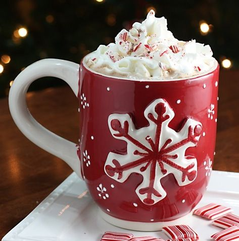 chocolate coffee with a peppermint twist.