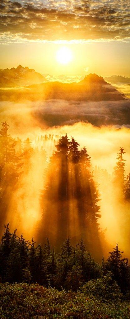 Evergreen Mountain Lookout, Cascade Mountains, Washington