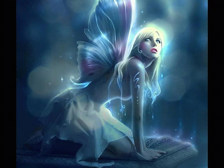 Blonde Fairy MY SECRET GARDEN Pinterest
