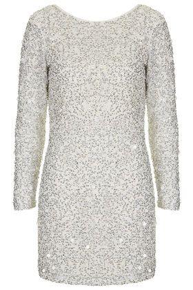 Crystal Embellished Bodycon Dress