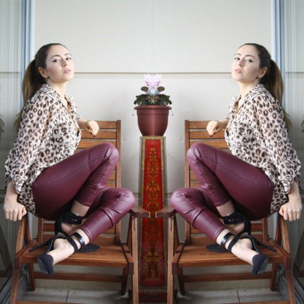 New on the blog @NASTY GAL #HM #Leopard #Leather #Oxblood #NastyGal #Faye #Pumps #Print #Edgey #Ponytail #Mirrored #nofilter #Outfit #Fashion #Fashionblogger #Style #Styleblogger #Vancouver #Vancity #Canada #Blogger #StreetStyle #whatiwore #whatiwear #soundofsweetlullabies #Girl #HairStyle #Ombre