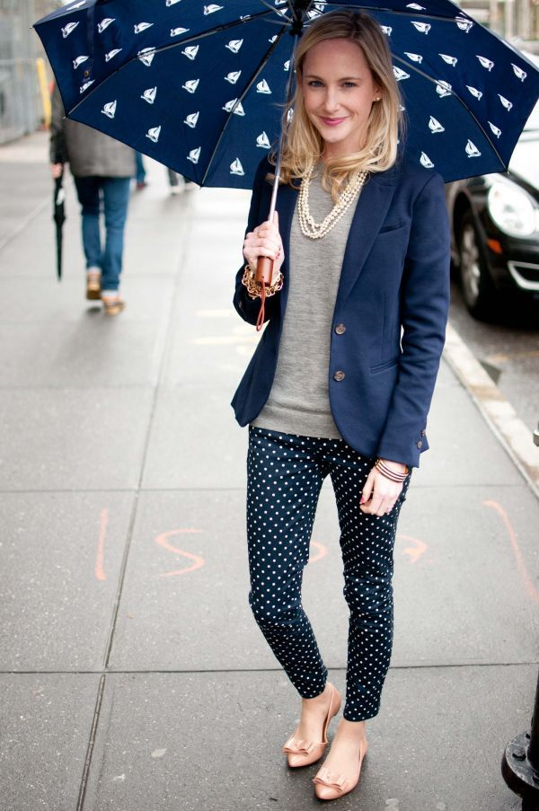 rainy day look from www.kellyinthecity.com