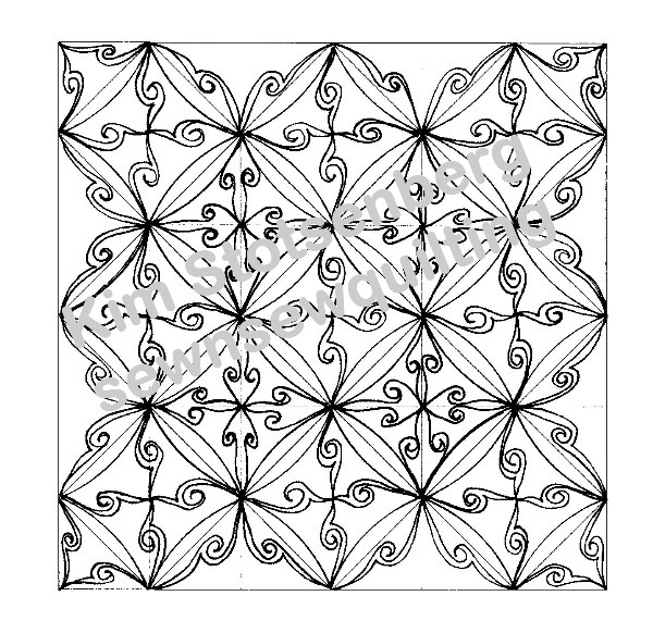 Sew N Sew Quilting Heavy Metal Drawing From My New
