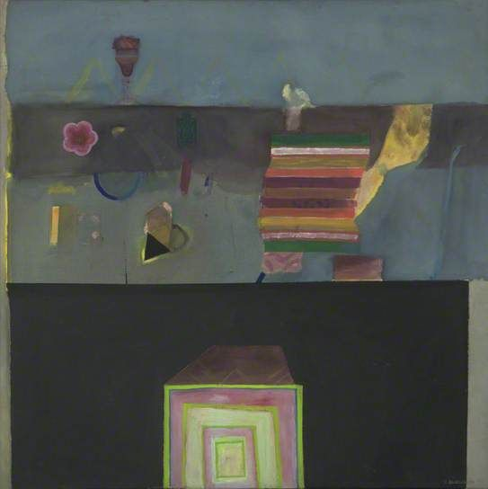 Still Life with Flowers - Elizabeth Blackadder