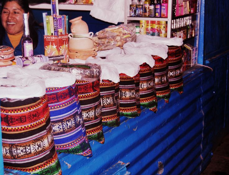 Mercado Central de San Pedro (Cusco, Perú.)