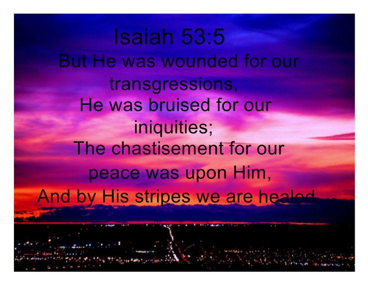 Isaiah 53:5