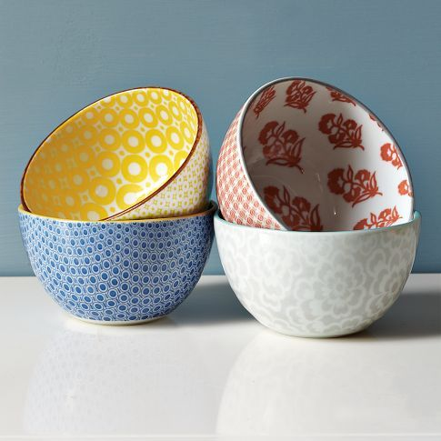 """Modernist"" bowls from West Elm"