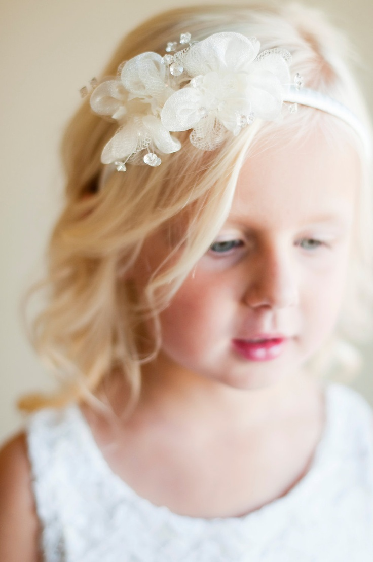 Bridal Hair Accessories And Flower Girl Accessories