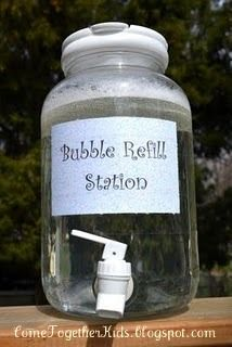 Bubble Filling Station