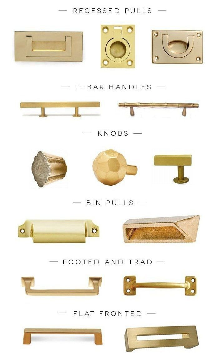 a hardware round up of the prettiest kind brass hardware cabinet pulls repurposed furniture on kitchen cabinets gold hardware id=82322