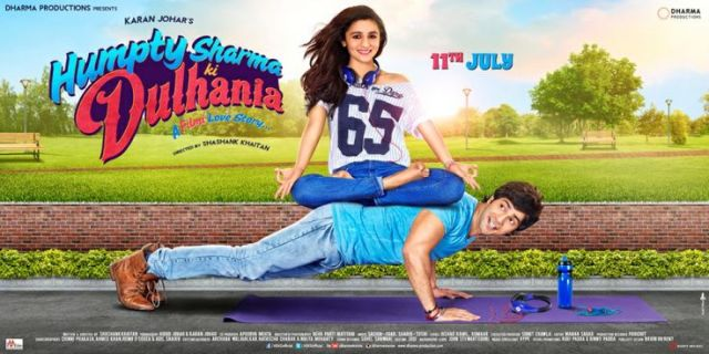 A brand new poster from Humpty Sharma Ki Dulhania! We love #VarunDhawan and #AliaBhatt. Coming soon on 11th July, 2014. #HumptySharmaKiDulhania #bollywood #LoveStory #Filmy
