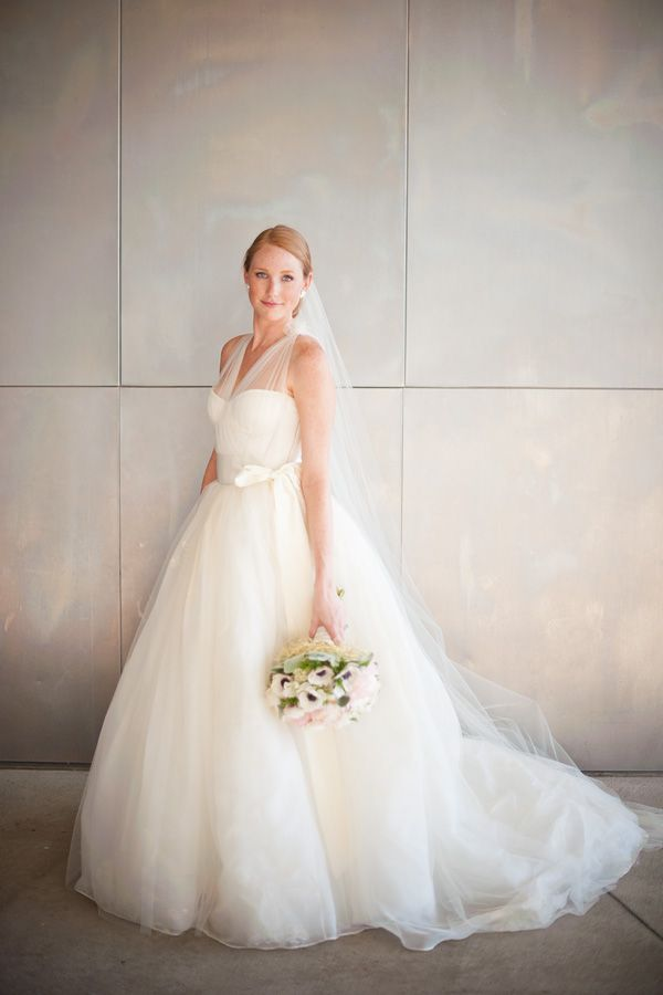 stunningly gorgeous tulle gown | Tim Will