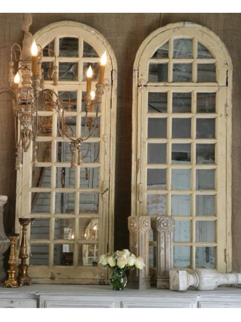 Beautiful but SOLD ~ Arched Architectural Mirrors home-decor