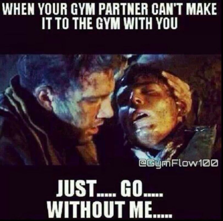 Gym humor @Eva Sepeda sorry I can't make it in the morning :/