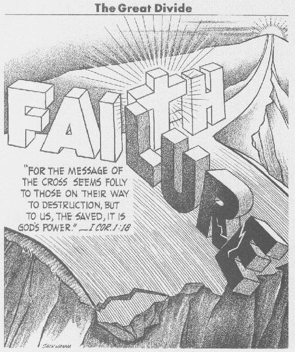 Faith.  Failure.