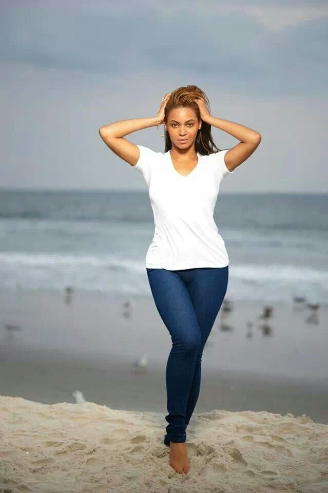 Image result for images, beyonce walking on the beach
