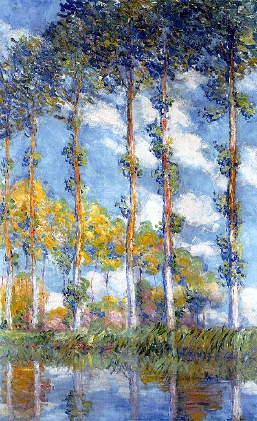 Claude Monet, Poplars, 1891