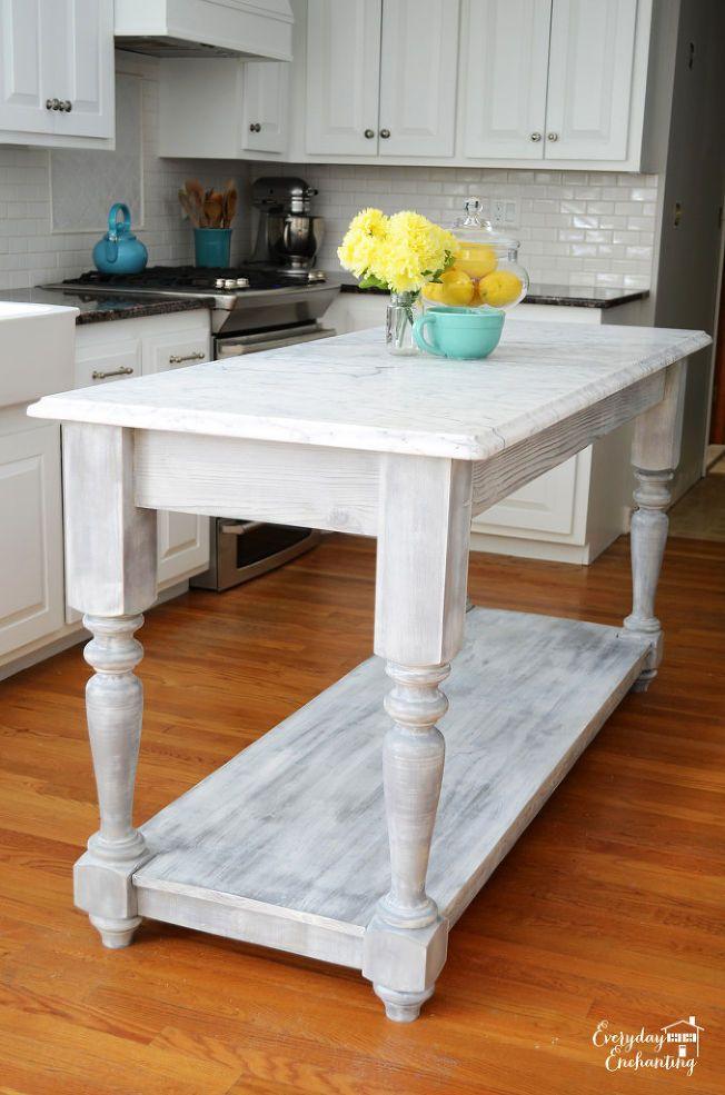 diy furniture style kitchen island on kitchen island ideas diy id=16653