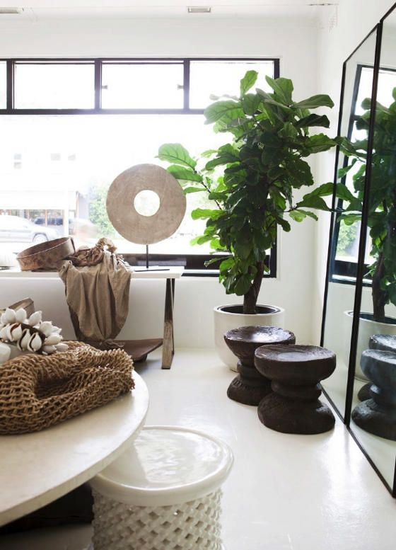 African chic home