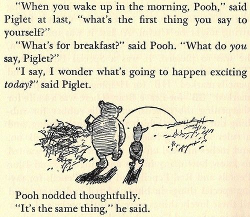 winnie the pooh and piglet, always making me smile