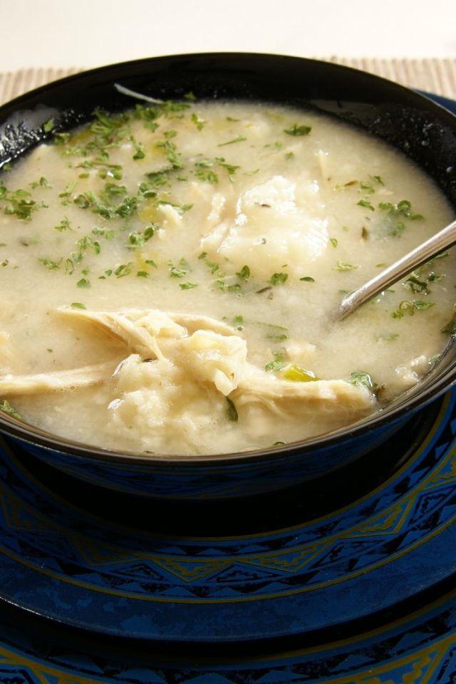 Slow Cooker Chicken and Dumplings Recipe