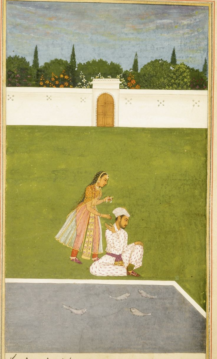 Shaykh Inayat Allah Kanbu of Lahore, Bihar-i-Danish ('The Romance of Jahandar Sultan and Bahravar Banu'), Mughal, late 17th/early 18th century | Lot | Sotheby's