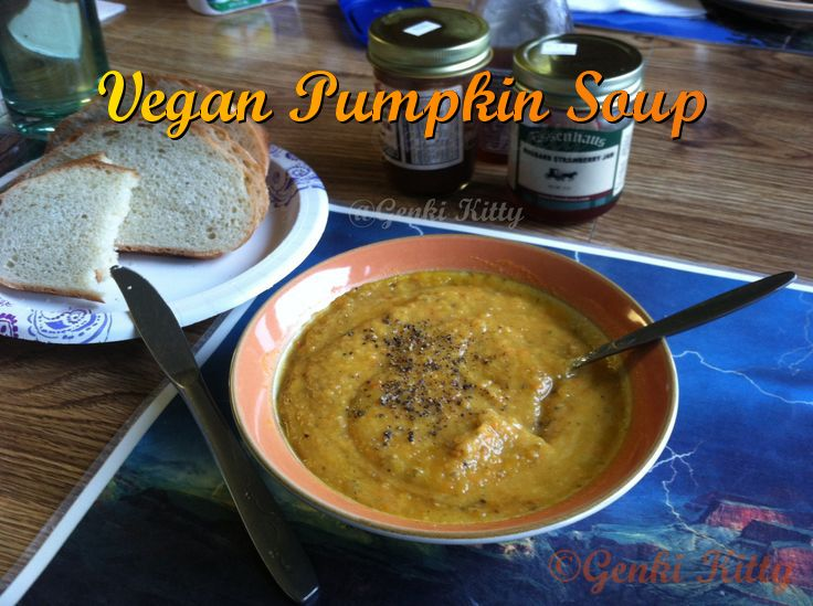 Image Vegan Pumpkin Soup Recipe