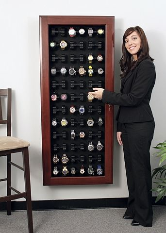 Wall Mounted Watch Display Case Pictures To Pin On