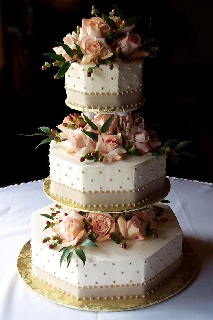 Goldpeach Wedding Ideas Cake Pinterest