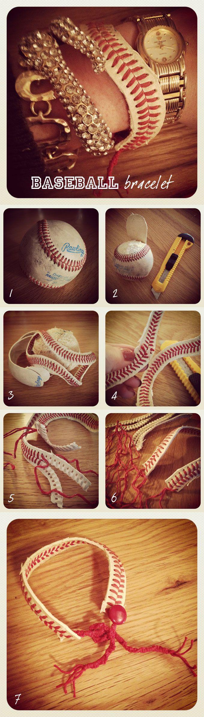 Baseball Bracelet AH