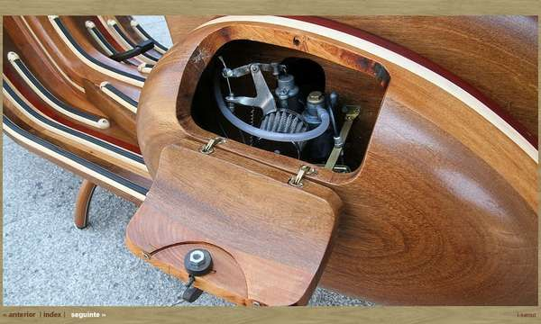 ... The Classic Vespa With Classic Woodworking Techniques (GALLERY