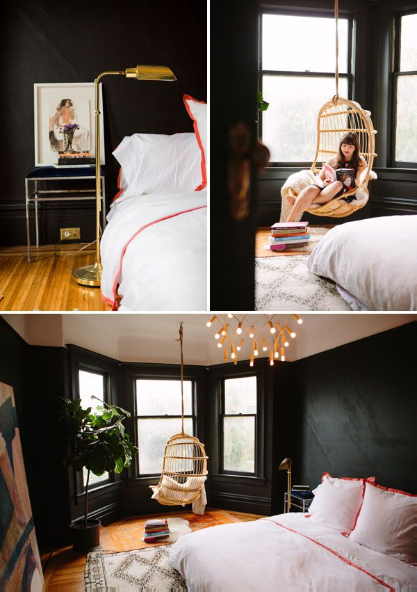 Our Bedroom Makeover   Oh Happy Day @Valspar Paint Paint #loveyourcolor