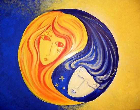 Sol y Luna - Yin y Yang porción nelinda
