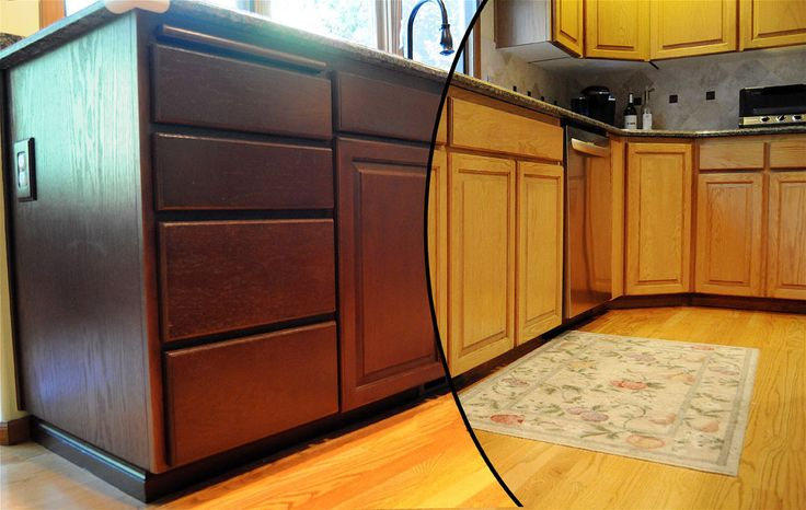 painted oak cabinets before and after cabinets before and after kitchens pinterest on kitchen cabinets painted before and after id=92226