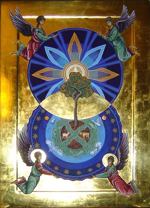 The mandorla is an ancient Christian symbol ~ by Gaylene Anne Barnes http://www.raynbird.com/sacred/product8.html