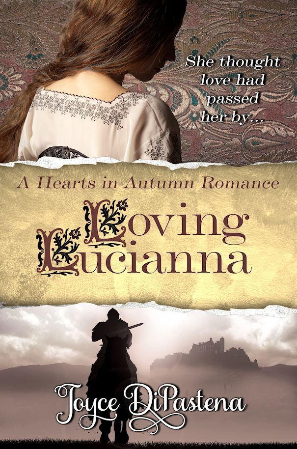 "Book cover for ""Loving Lucianna"" 2014"
