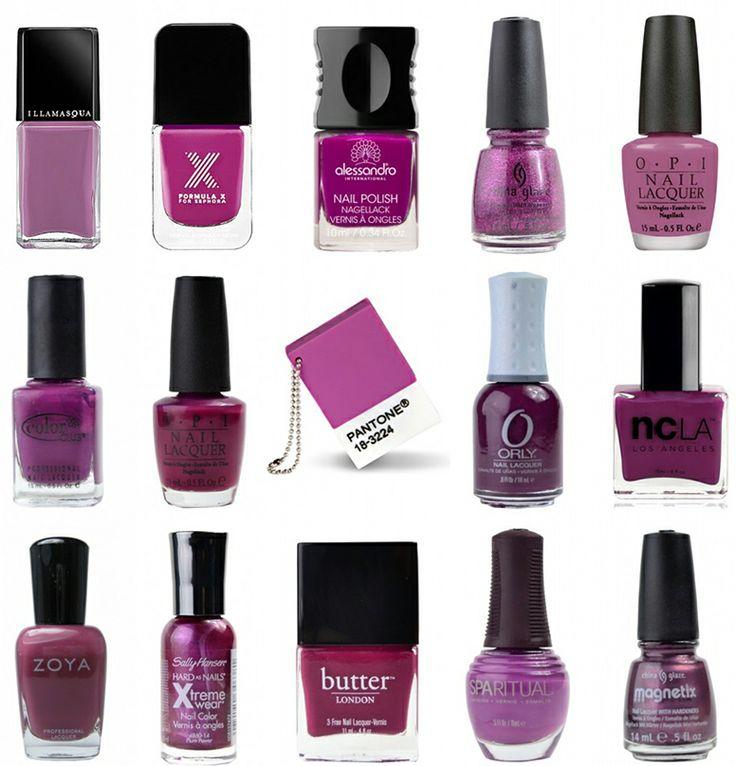 pantone orchid nail polish brands