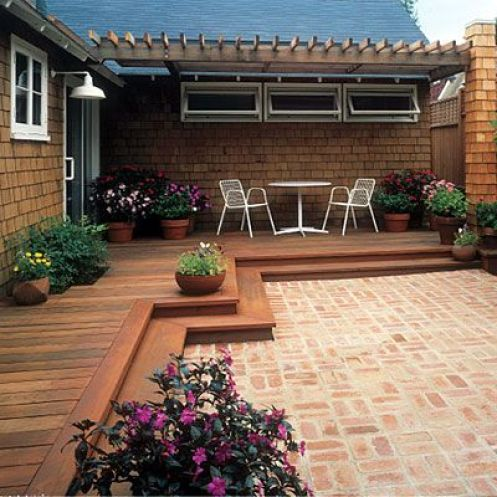 Giardini piccoli la scelta della pavimentazione guida - Piccoli giardini moderni ...