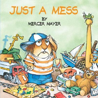 what a cute little guy....love mercer mayer books!