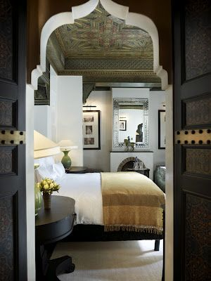 the style saloniste: Ooh La La: La Mamounia in Marrakech