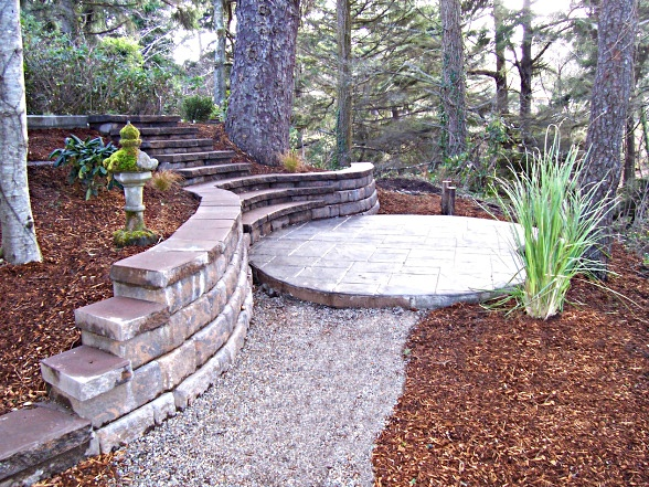 Hardscaping Ideas For Small Backyards - Ztil News on Backyard Hardscape Design id=66020
