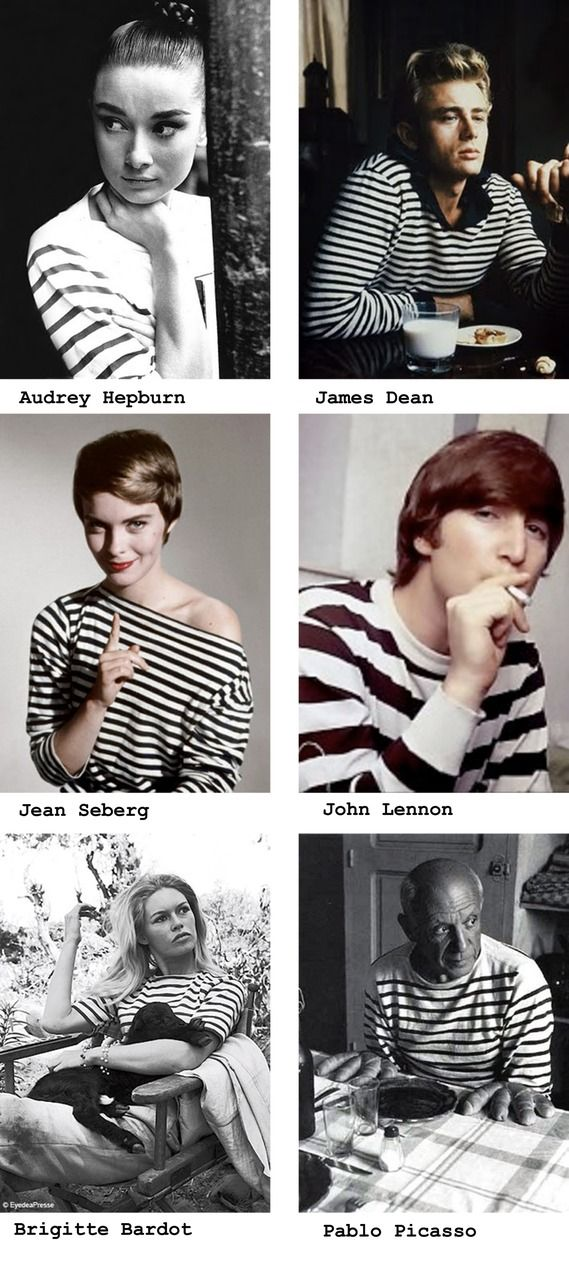 Several great reasons for wearing striped shirts