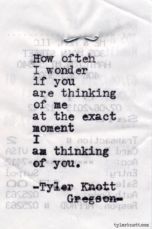 Typewriter Series #470 by Tyler Knott Gregson