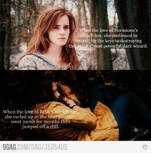 reason 783 why harry potter is better than twilight.