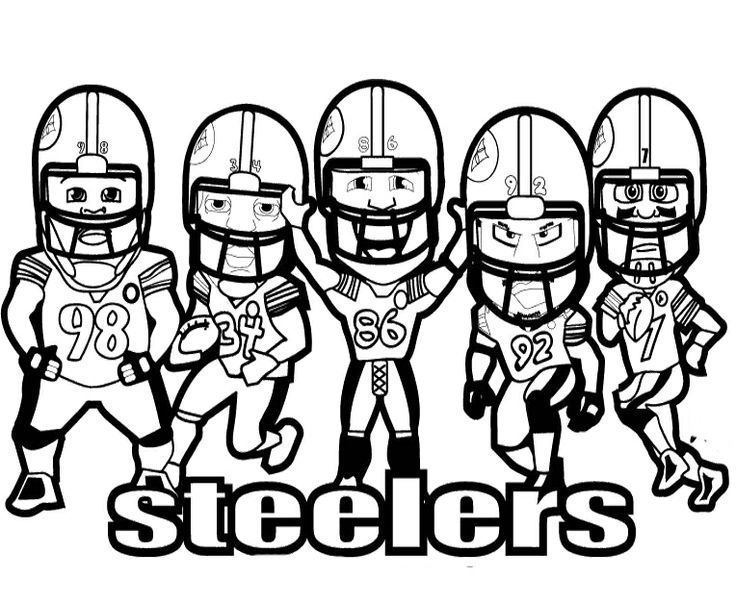 steelers nfl football helemts to  free colouring pages