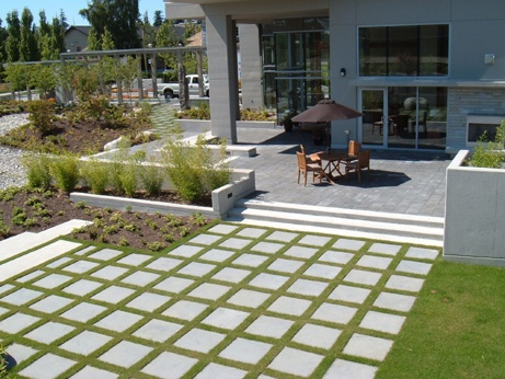 Stepping stone patio extension idea. | outside fun | Pinterest on Stepping Stone Patio Ideas  id=89593