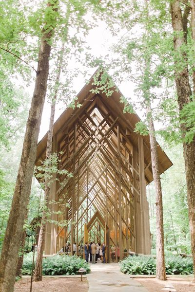 Anthony Chapel in Garvan Woodland Gardens | The Nolans #wedding