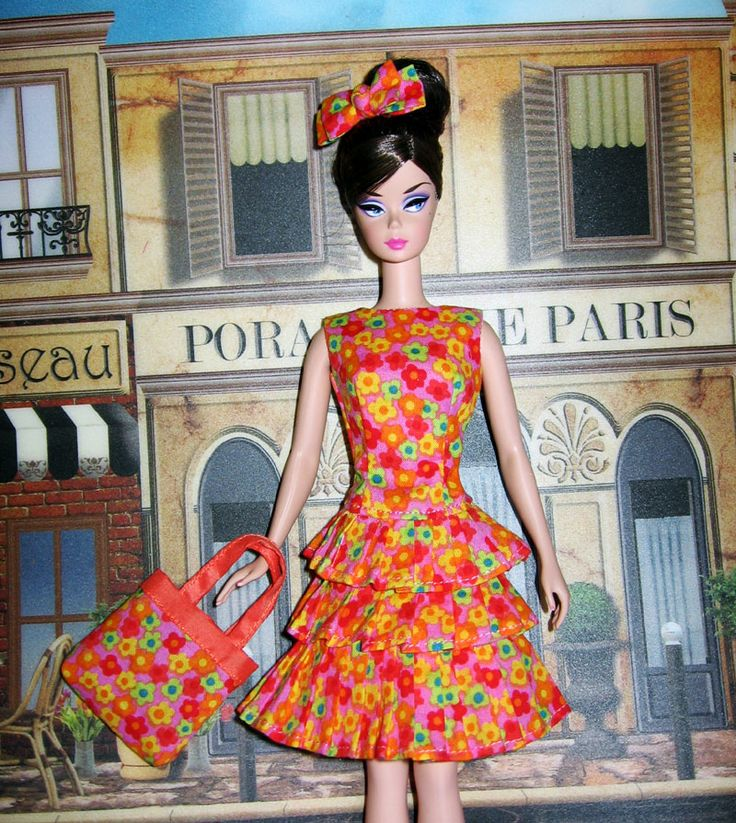 Bouncy Flouncy Ensemble for Silkstone Barbie