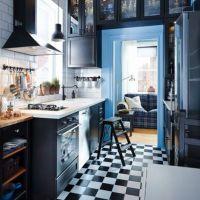 IKEAカタログ2015から。モノトーンのキッチン。いいじゃないか。