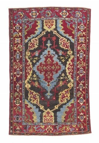A Karapinar rug, Konya District, Central Anatolia, Late 17th or early 18th century